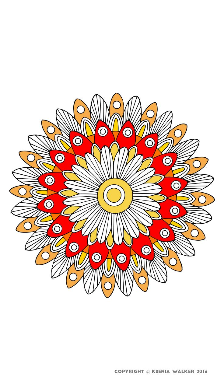 100 best MANDALA images on Pinterest | Coloring books, Coloring ...