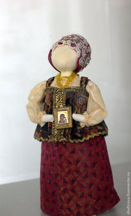 """Коллекционная кукла """"Осень.Благословение"""" - интерьерная кукла,коллекционная кукла"""