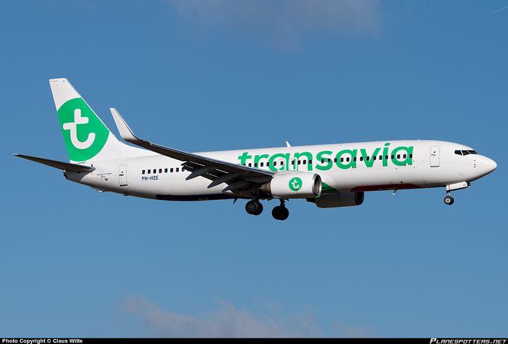 PH-HZE Transavia Boeing 737-8K2(WL)