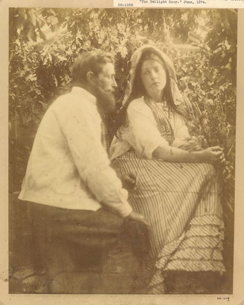 The Twilight Hour by Julia Margaret Cameron, England, 1865. l Victoria and Albert Museum #photography