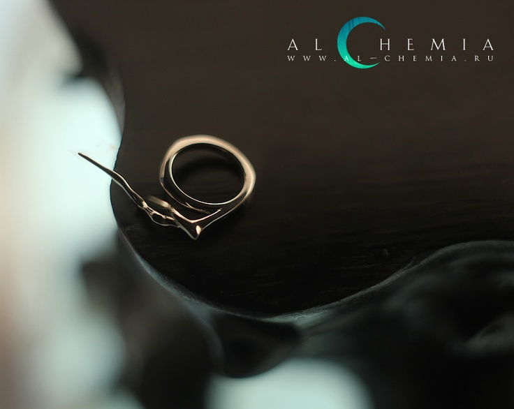 """Branch"" ring.  http://al-chemia.ru/eng/collections/10/branch.html"