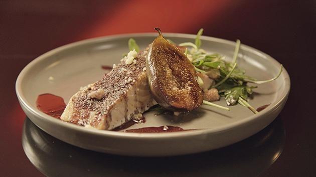 MKR: Sumac Spiced Salmon with Figs Yahoo7