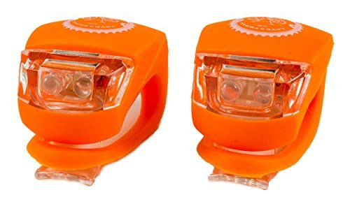 From 5.49 Love2pedaluk Bike Lights Bicycle Safety - Warning Lights - Taillights (orange)