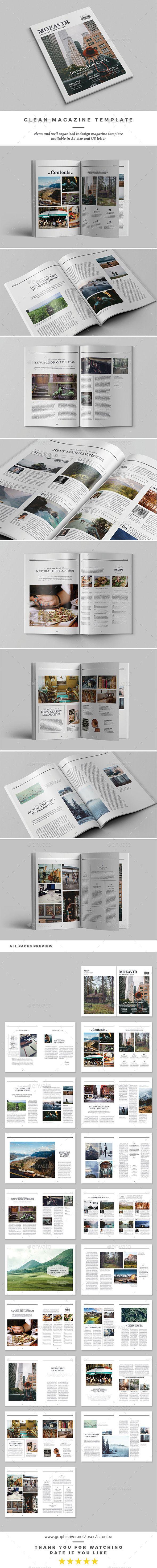 Mozavir Magazine - Magazines Print Templates