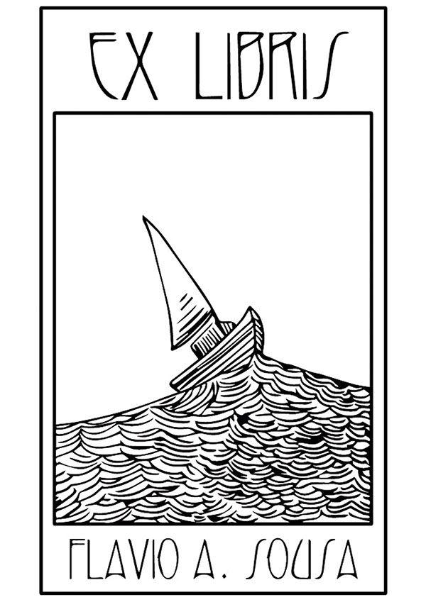 Ex Libris on Behance                                                                                                                                                                                 Más