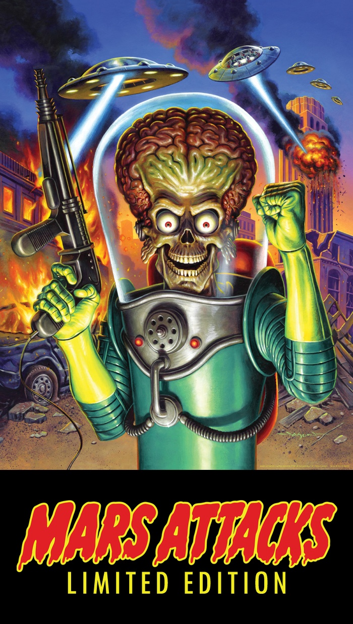 Limited Edition tee & poster from Fright Rags http://www.fright-rags.com/teaser/mars-attacks-teaser.html