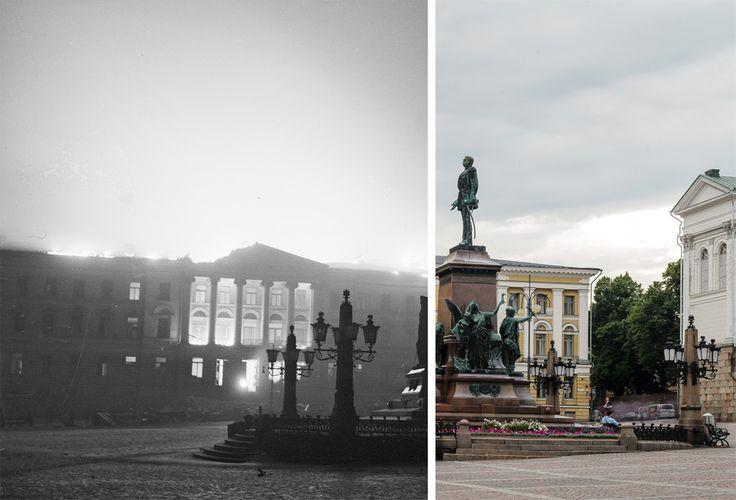 Katso, miten Helsinki on muuttunut – vertaa sotakuvia tähän päivään.