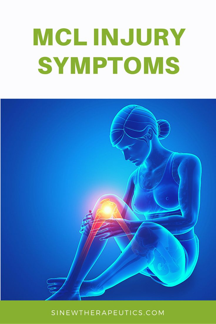 Grade 2 mcl sprain symptoms - Common Symptoms Of An Mcl Injury Are Swelling Redness Pain Stiffness And Weakness