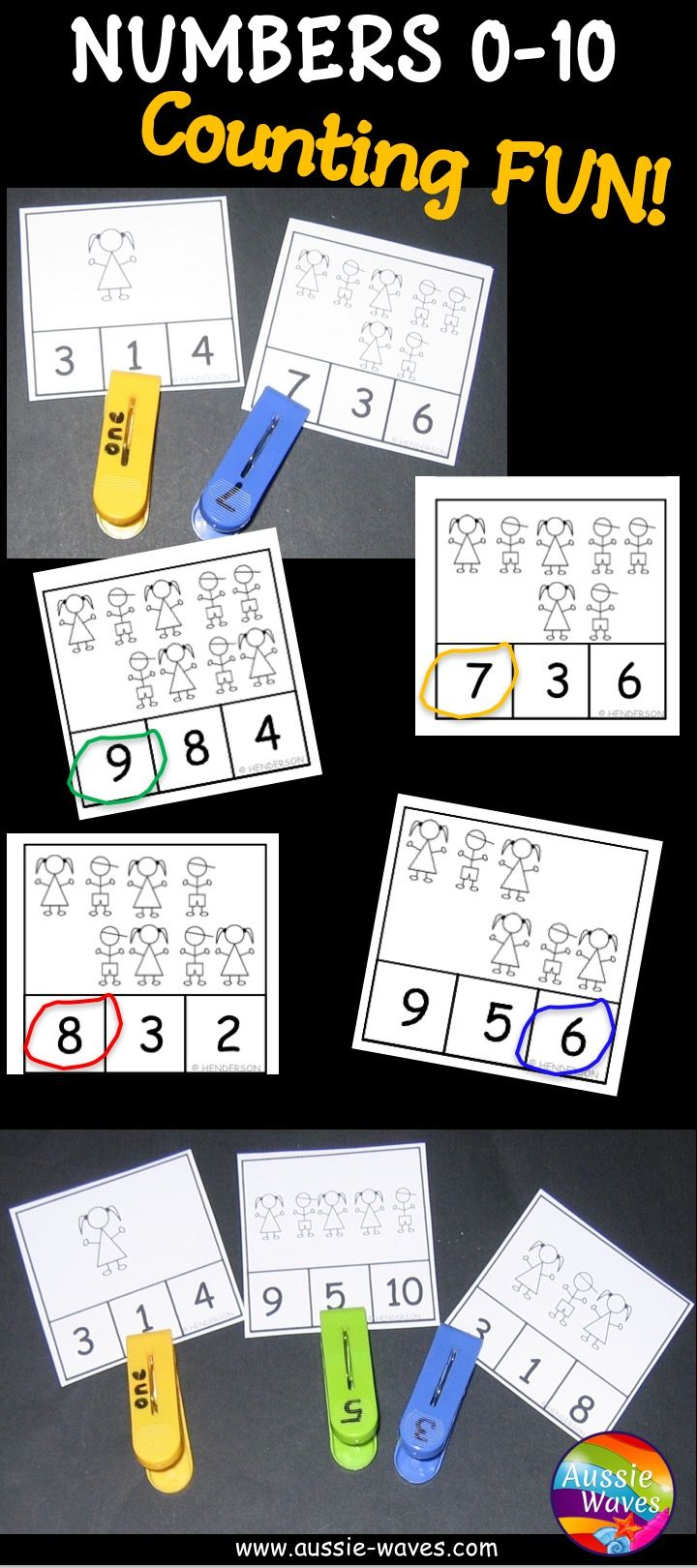 Printable Kinder Maths Centre Activities Counting Numbers 0 10 Count Items And Mark The Math Center Activities Kinder Math Centers Math Activities Elementary [ 1620 x 720 Pixel ]