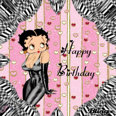 HAPPY BIRTHDAY FROM BETTY BOOP