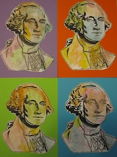 President's Day Andy Warhol Style--make small images so all four fit on one sheet of paper.: Crafts Ideas, Style Art, Warhol Style, U.S. Presidents, Toddlers Approv, Fun Ideas, Andy Warhol, Art Projects, Presidents Day