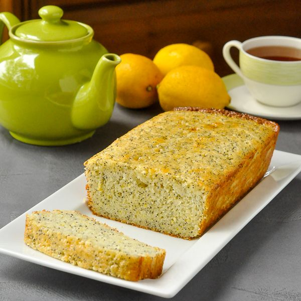 Lemon Poppy Seed Loaf Cake - packs a real lemon punch! Plus the cake ...