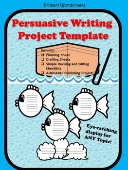 persuasive fishing Persuasive writing is a form of nonfiction writing that encourages careful word choice, the development of logical arguments, and a cohesive summary young children can be guided through a series of simple steps in an effort to.