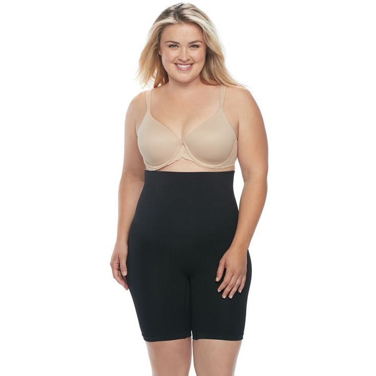 Miraclesuit Synthetic Plus Size Extra Firm Control High