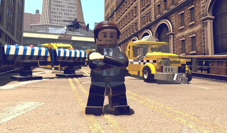 New Lego Marvel Video Game Character Images: Agent Coulson