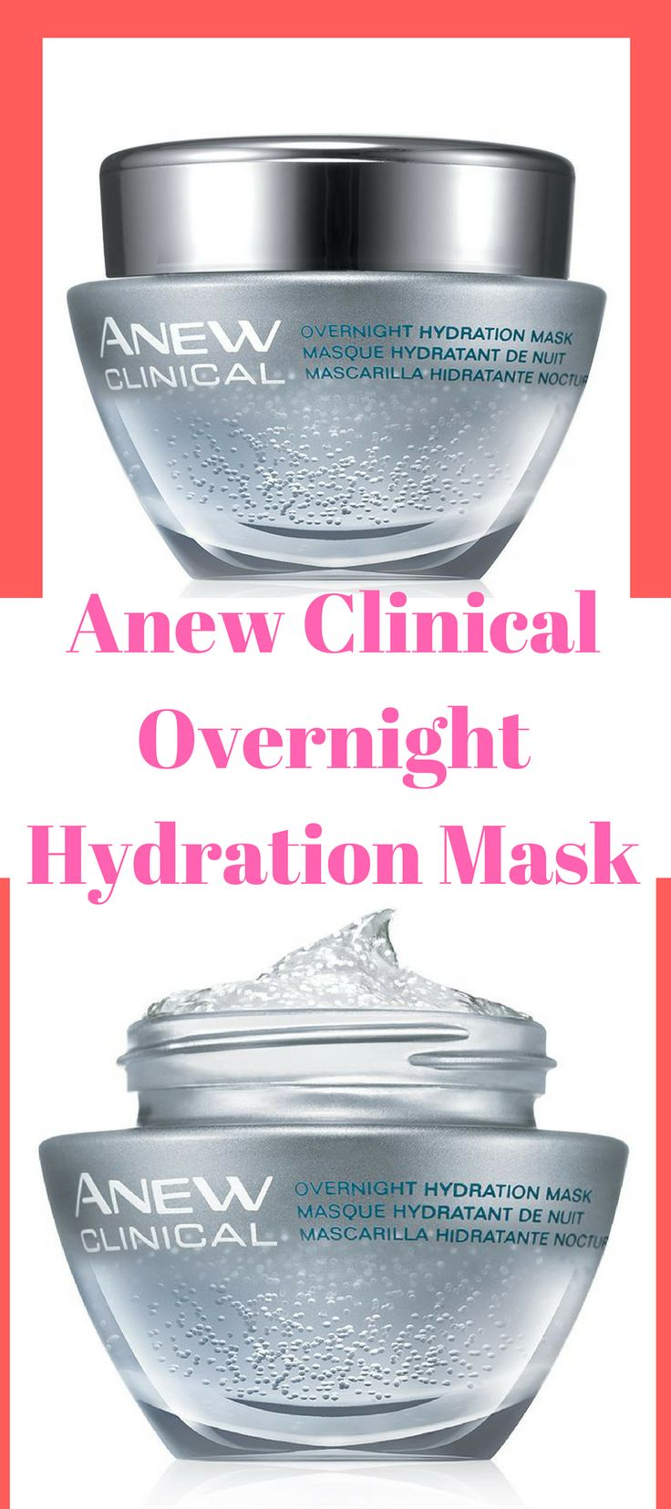 Anew Clinical Overnight Hydration Mask #skincareacne night cream best | night cream | night cream for oily skin | night cream diy | night cream drugstore | Night Cream to Help Skin Issues | Night Creams | Night Cream | Night creams |