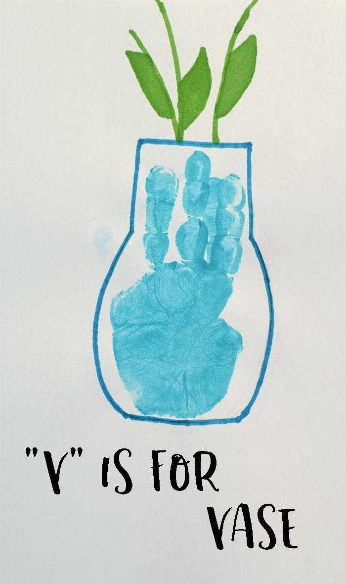 Preschool Letter V Art Projects Textpoems