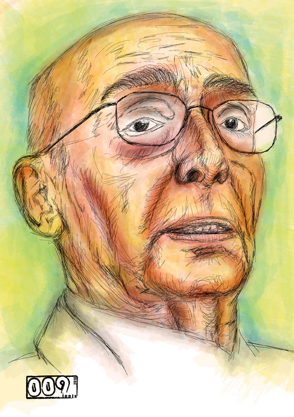 Saramago // Prints Available - http://society6.com/lepix/Saramago-j7b_Print#1=45