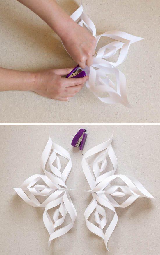 25 best ideas about 3d snowflakes on pinterest 3d paper for Diy paper snowflakes 3d