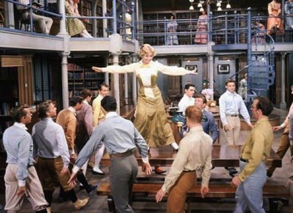 """Marion the Librarian"" from The Music Man  16 Great Library Scenes in Film"