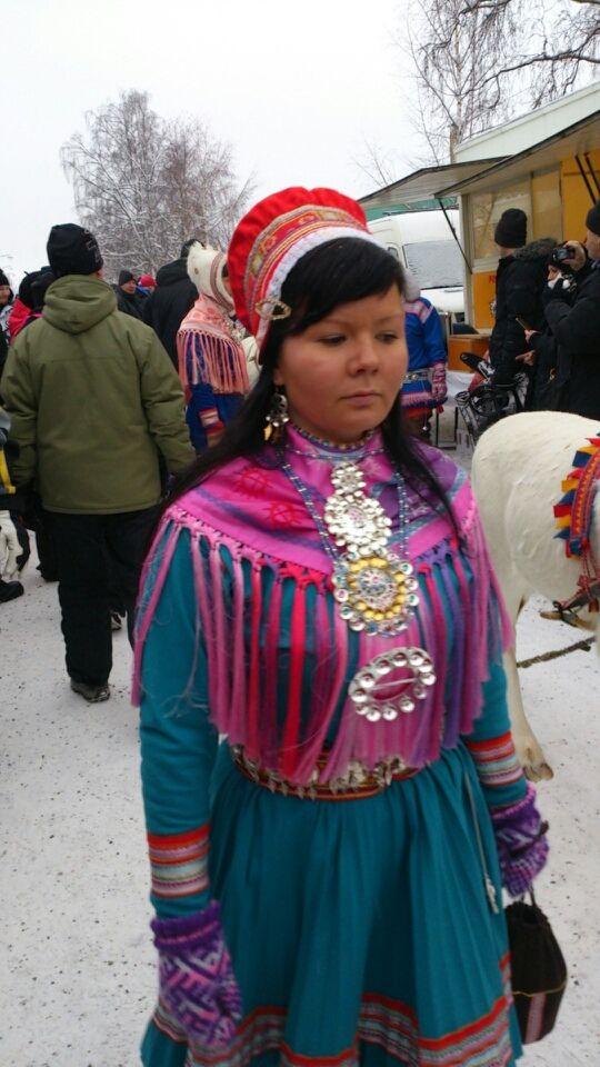 At the Jokkmokk market