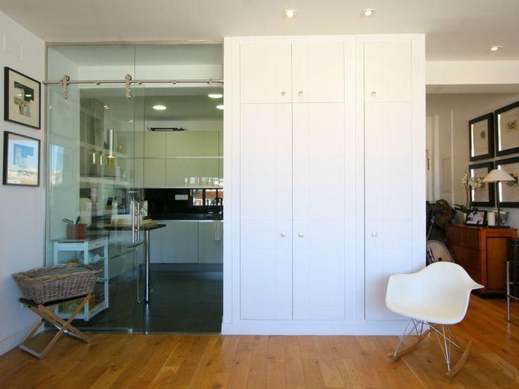 Oltre 1000 idee su porte coulissante verre su pinterest for Cloison transparente coulissante