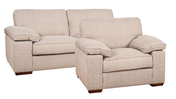 3 pers. + armchair set JERSILD beige | JYSK