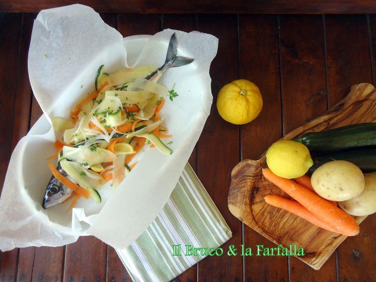 sgombro al cartoccio http://blog.giallozafferano.it/ilbrucoelafarfalla/sgombro-al-cartoccio-con-verdure/