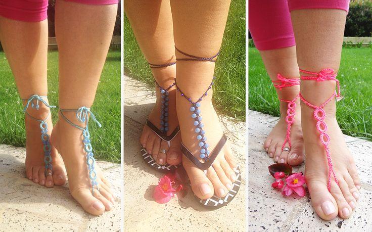 barefoot sandals, ayak takısı, footsie, beach, yaz, sahil