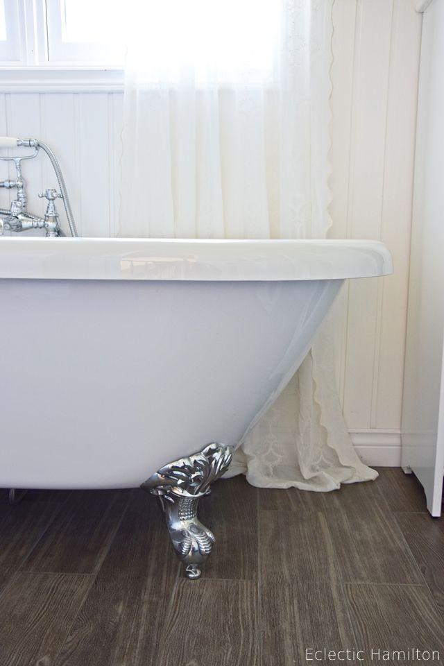 Die besten 25+ Badewanne mit löwenfüßen badezimmer Ideen auf - rollo für badezimmer