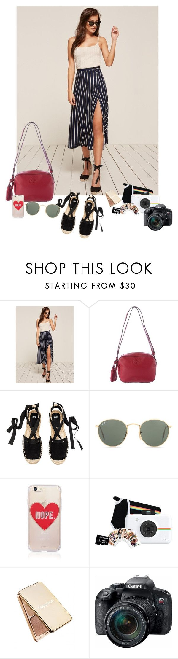 """""""Hate"""" by audrey-balt on Polyvore featuring Tory Burch, Ray-Ban, Sonix, Polaroid, Napoleon Perdis and Eos"""