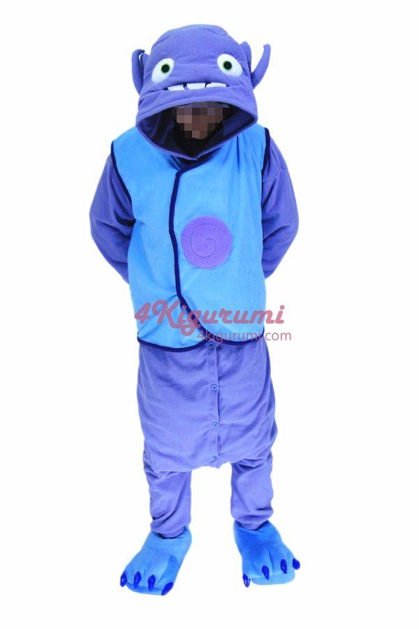 Boov The Alien Race Costume Kigurumi Onesies