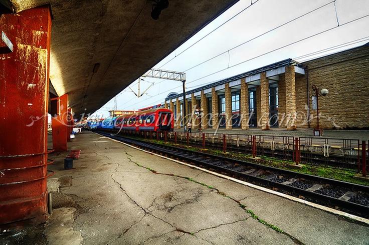 hdr railway station, bahnhof, gare ferroviaire, gara, constanta romania