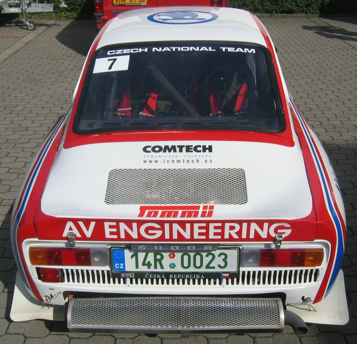 Škoda 130RS, Barum Rallye 2007