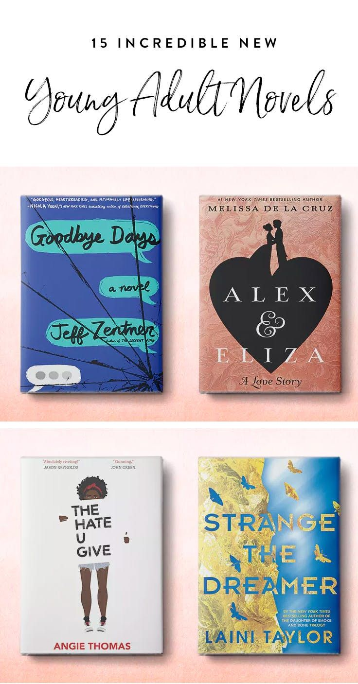 15 Incredible New YA Novels to Put on Your Wish List This Spring via @PureWow
