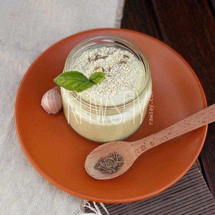 Соус тахини с кабачком - Сыроедение, рецепты и диеты - Rawsay