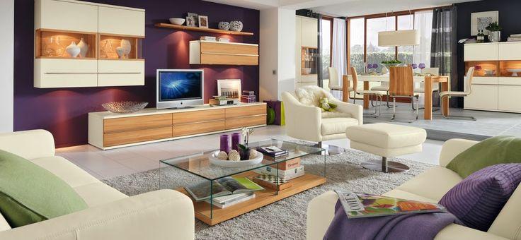 Couleur de peinture pour salon couleur salon meuble salle de sejour de - Couleur sejour tendance ...