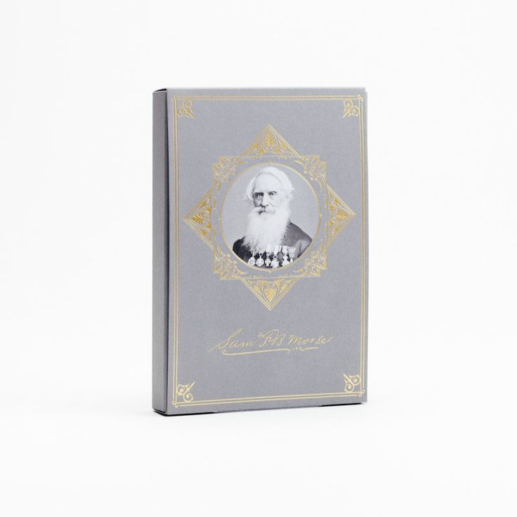 Samuel Morse Edition - Limited Edition Pocket Notebook 3-pack