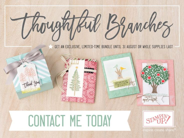 Limited and Exclusive Thoughtful Branches Bundle available 2-31 August. This…