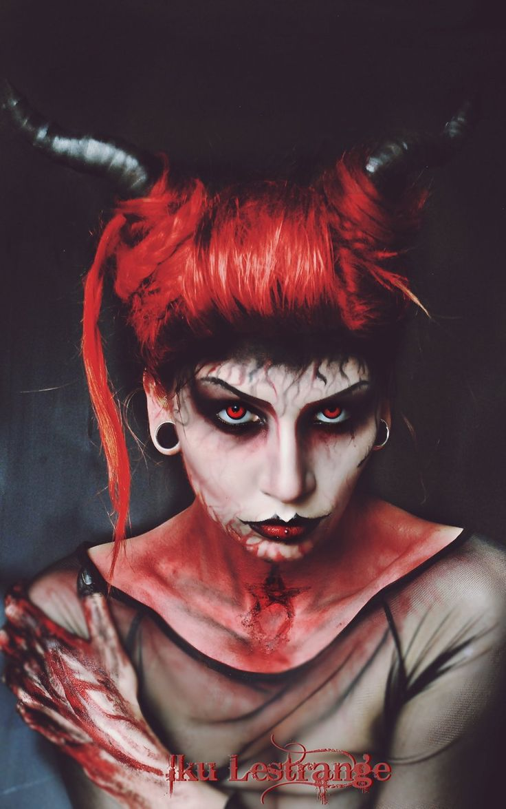 Best 25+ Devil makeup ideas on Pinterest | Fire makeup, Theatrical ...