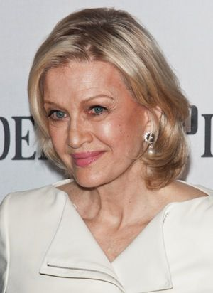 Diane Sawyer | b. 1945, no photo filter, real skin