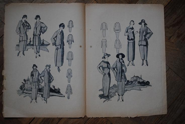 Mody i roboty, Bluszcz 1917/1920