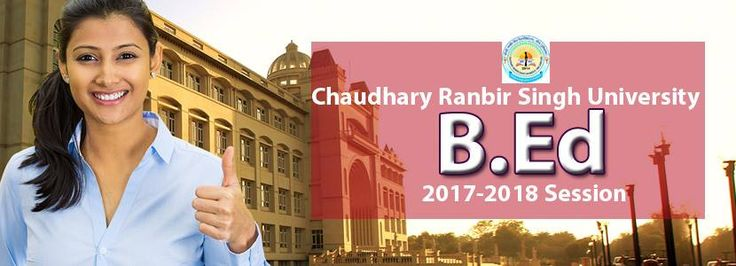 Apply Now for CRSU University Jind , Haryana Regular B.Ed Course ( Bachelor of Education ) 2017-2018 Session Admission, Registration for Counseling. Student can contact to Aplomb Institution for CRSU University B.Ed Admission Guidance and Counseling or apply direct on University Counseling Website. Student can get full information and detail about Chaudhary Ranbir Singh University Jind city of Haryana B.Ed Regular Course Admission, Duration and Fees for 2017 Session.