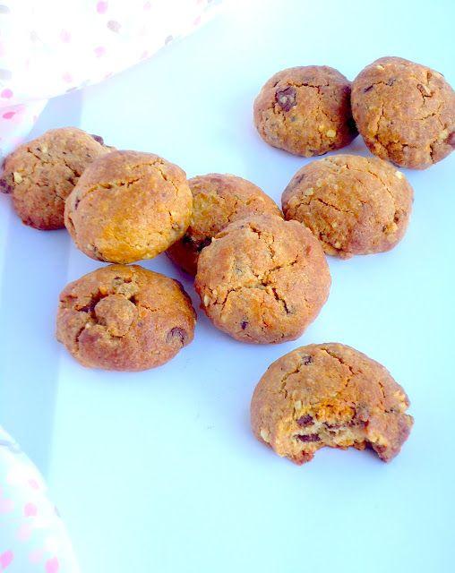 Lekker recept voor pindakaas koekjes met chocolade.