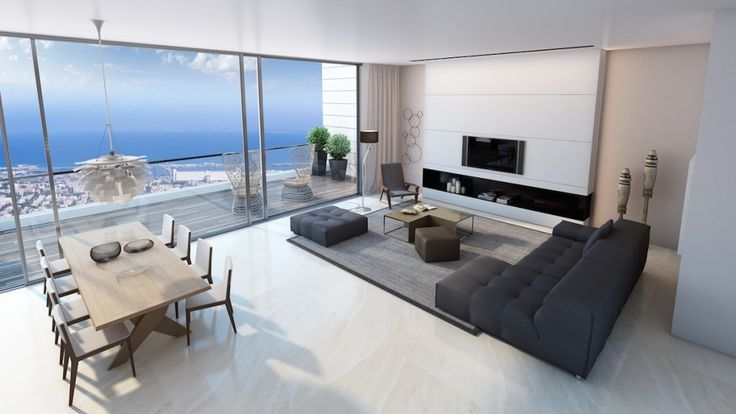 Дизайн уютных гостиных комнат - Вид