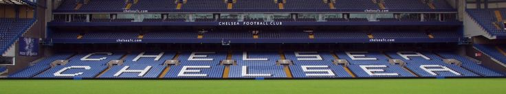 Stamford bridge stadium, home of chelsea football club.