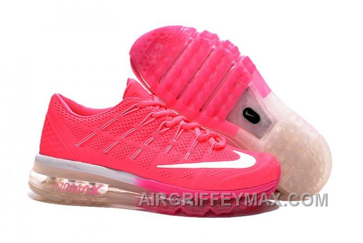 http://www.airgriffeymax.com/new-arrival-air-max-2016-pink-white.html NEW ARRIVAL AIR MAX 2016 PINK WHITE Only $90.00 , Free Shipping!