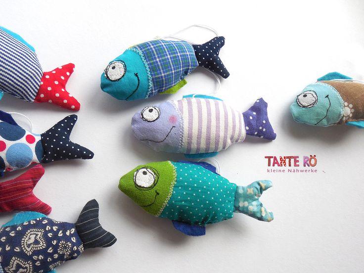 Fritz, der Fisch von Tante Rö auf DaWanda.com
