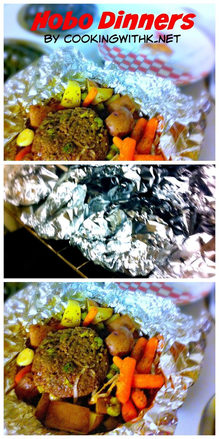Hobo Dinners are the perfect meal all wrapped up in foil and cooked in the oven or in hot coals of a campfire!