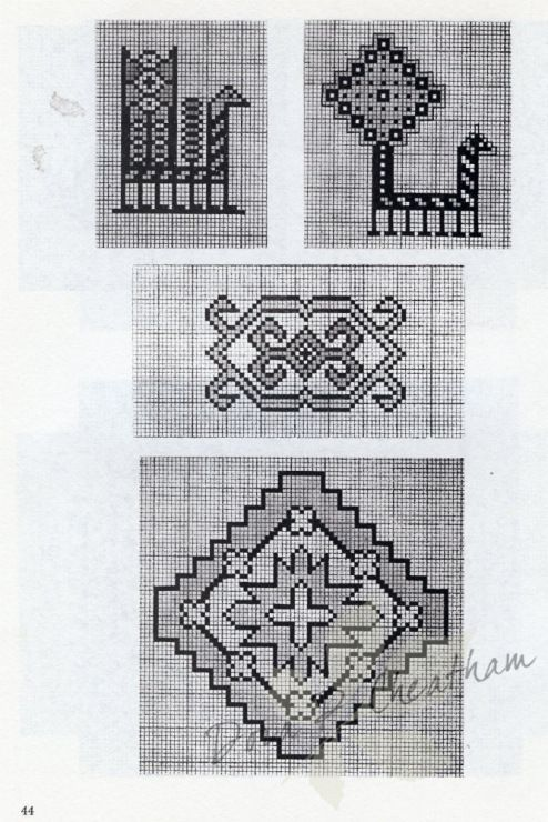 Gallery.ru / Фото #50 - Persian Rug Motifs for Needlepoint - Dora2012 page 44 (44 of 48)